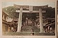 Torii gates at the Suwa Shrine in Nagasaki 1887 (18593582351).jpg