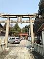 Toriis of Wakamiya Hachimangu Shrine in Kyoto.jpg