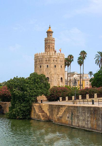 File:Torre del Oro Guadalquivir Seville Spain.jpg