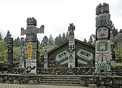 Totem Poles in Formosan