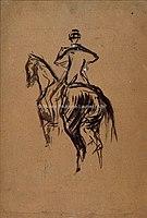 Toulouse-Lautrec - CAVALIER, 1880, MTL.51.jpg