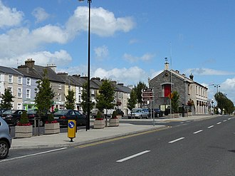 Templemore - Main Street and Town Hall, Templemore 2015