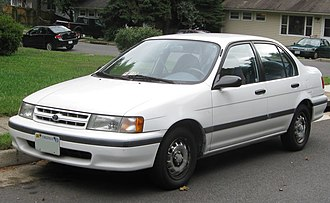 Toyota Tercel - The 4th generation Toyota Tercel DX Sedan (EL43) in the US.