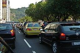 Traffic jam Rio de Janeiro 03 2008 28