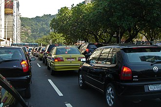 Road rage - Traffic congestion may be a contributing factor to driver frustration and road rage.