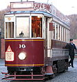 Tram No. 10, Beamish Museum, 26 November 2006 (4) (cropped).jpg