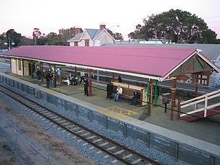 Claremont railway station, Perth