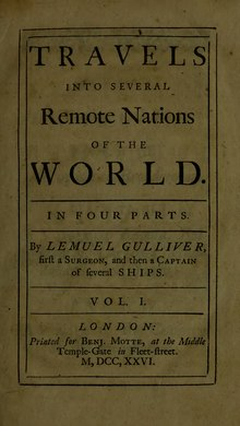 Travels into several remote nations of the world. In four parts (1726 Volume 1).djvu