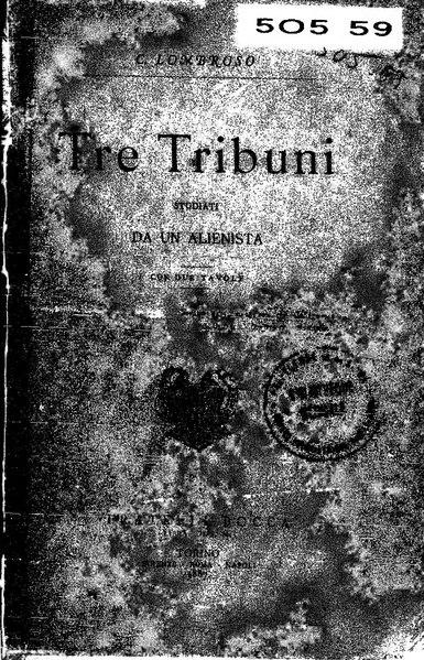 File:Tre tribuni studiati da un alienista.djvu