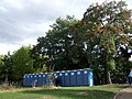 Trees and toilets, Wennington Green - geograph.org.uk - 1534401.jpg