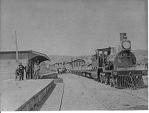 Villa Alemana - Tren Villa Alemana 1880