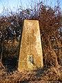 Triangulation pillar near Allesley - geograph.org.uk - 333293.jpg