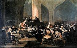 Francisco Goya: The Inquisition Tribunal