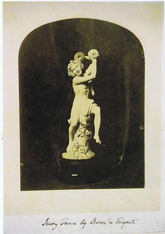Faun - Image: Triqueti Fawn