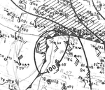 Tropical Storm Eleven Analysis 15 Oct 1932.png