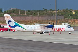 TruJet 9M-TAG at Hyderabad, June 2015.jpg