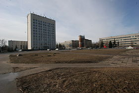 TsAGI and the Zhukovskiy City Hall.jpg