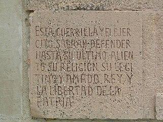 Tumba de Juan Sánchez el Charro. Inscripción.jpg