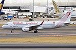 Tunisair, TS-IMW, Airbus A320-214 (29467904917).jpg