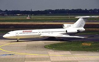 1977 Libyan Arab Airlines Tu-154 crash