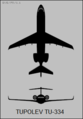 Tupolev Tu-334 two-view silhouette.png