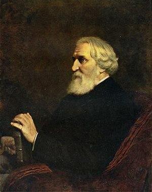Ivan Turgenev - Turgenev, by Vasily Perov, 1872