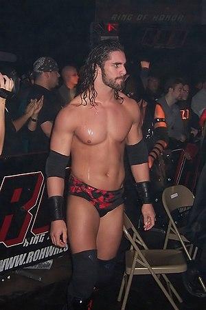 Seth Rollins - Black in December 2008