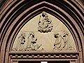 Tympanon Westfassade St Gallus Ladenburg 1863.JPG