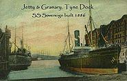 Tyne Dock 1886