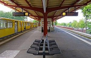 Ruhleben (Berlin U-Bahn) - Platform
