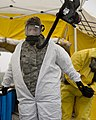 U.S. Air Force Staff Sgt. Merci Sand, center, goes through decontamination procedures during a chemical enhanced response force package training exercise in Little Falls, Minn., May 22, 2013 130522-Z-LY731-472.jpg