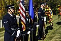 U.S. Airmen with the Hill Air Force Base Honor Guard stand ready during the funeral service for a fallen Airman Oct. 26, 2013, near Ogden, Utah 131026-F-SP601-044.jpg