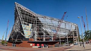 U.S. Bank Stadium - US Bank Stadium under construction