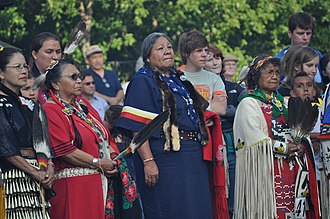 United Indians of All Tribes - Attending Seafair Indian Days / UIATF Pow-Wow (2009).