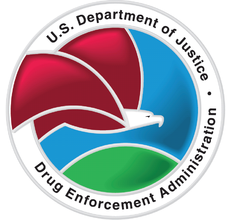 US. Dept of Justice DEA