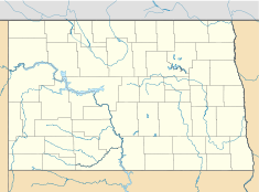 Garrison Dam is located in North Dakota
