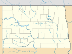 Washburn is located in North Dakota