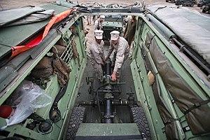 Dragon Fire (mortar) - Image: USMC 110615 M OO345 210