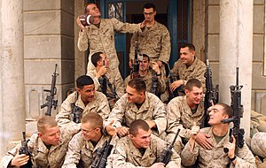 1st Battalion, 9th Marines - Marines with 1st Battalion