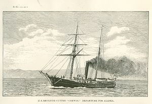 USRC Corwin: Departure for Alaska, 1885