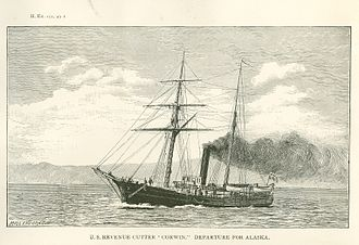 Black Week (Hawaii) - USRC Thomas Corwin, whose unexpected arrival caused the incident