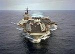 USS John F. Kennedy (CV-67) bow view in 1991.JPEG