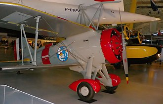 Curtiss F9C Sparrowhawk - F9C-2 number 9056 on display at the Steven F. Udvar-Hazy Center (2009)