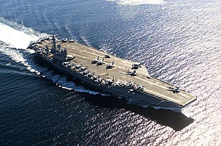 <i>Nimitz</i>-class aircraft carrier US Navy nuclear-powered aircraft carrier class