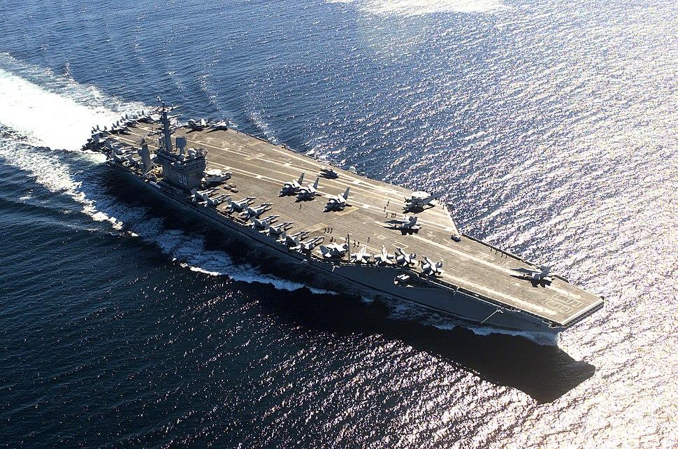 USS Nimitz in Victoria Canada 036