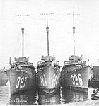 USS Preston (DD-327), USS Isherwood (DD-284) and USS Coghlan (DD-326) in port, circa in 1922 (UA 570.09.01).jpeg