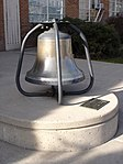 USS Utah bell at the University of Utah - side view - 7 Dec 2012.JPG
