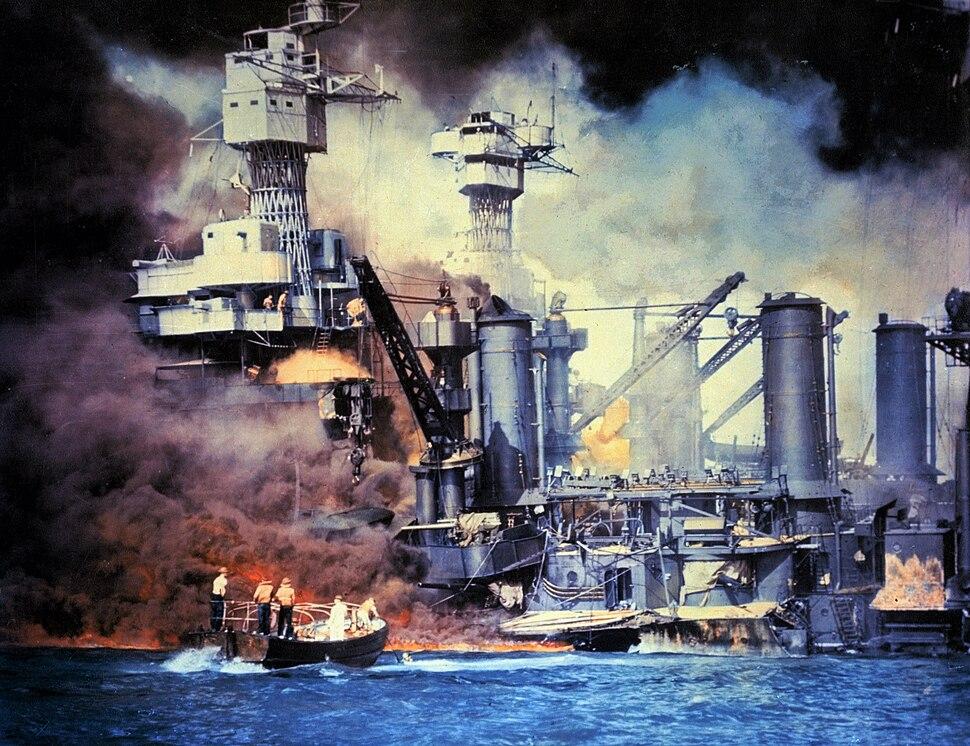 USS West Virginia;014824