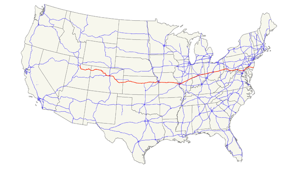 Us Route 40 Wikiwand - Us-highway-40-map