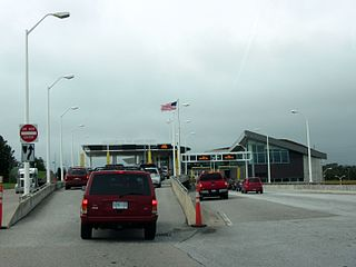 Sault Sainte Marie Border Crossing Border crossing